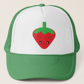 Kawaii Strawberry Trucker Hat