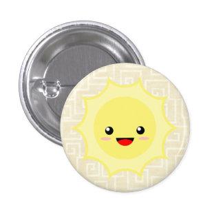 Kawaii Sun 3 Cm Round Badge