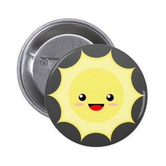 Kawaii Sun 6 Cm Round Badge
