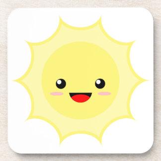 Kawaii Sun Beverage Coaster