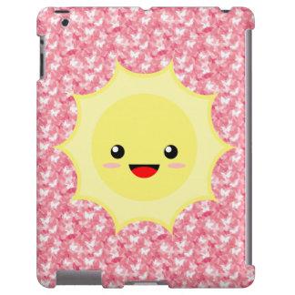 Kawaii Sun iPad Case