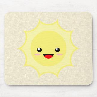 Kawaii Sun Mouse Pad