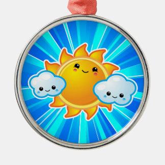 Kawaii Sunny Day Ornament