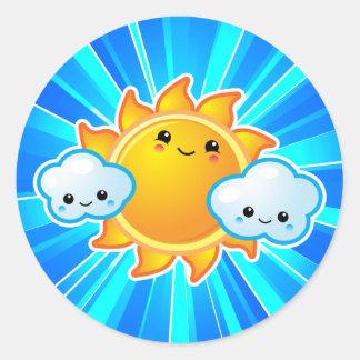 Kawaii Sunny Day Sticker