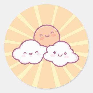Kawaii Sunshine Stickers
