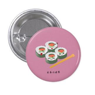Kawaii Sushi 3 Cm Round Badge