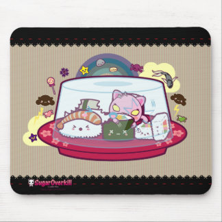 Kawaii Sushi Attacked! Mouse Pad