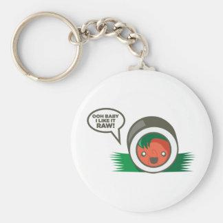 Kawaii Sushi- Ooh Baby I Like it Raw Key Ring