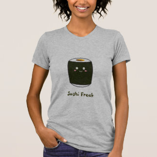 "Kawaii Sushi Roll ""Sushi Freak"" Tee Shirts"