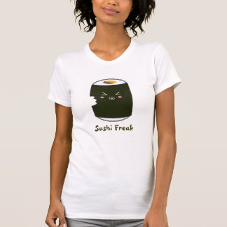 """Kawaii Sushi Roll """"Sushi Freak"""" T-shirts"""