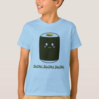 """Kawaii Sushi Roll """"SUSHI.SUSHI.SUSHI"""" Shirt"""