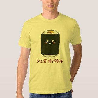 Kawaii Sushi Roll T-shirts
