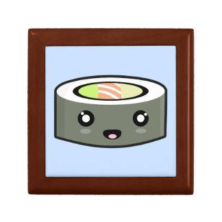 Kawaii Sushi Small Square Gift Box