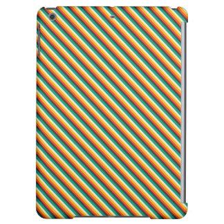 Kawaii Sweet Cute Striped Case Matte iPad Air Case