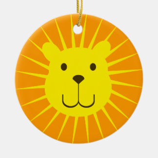 Kawaii Sweet Sunshine Lion Ornament