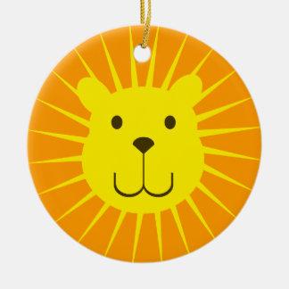 Kawaii Sweet Sunshine Lion Ornament