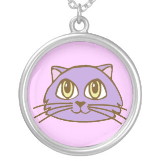 Kawaii Sweetie Kitty Sterling Silver Necklace