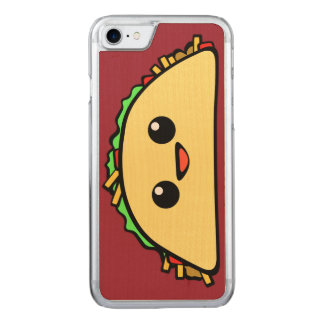 Kawaii Taco Character Carved iPhone 8/7 Case