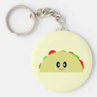 KAWAII TACO CUTE KEYCHAIN
