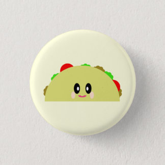 KAWAII TACO YUMMY PIN BUTTON