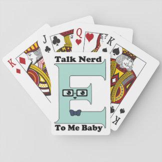 Kawaii Talk Nerdy (Nerd-E) To Me Baby Poker Cards