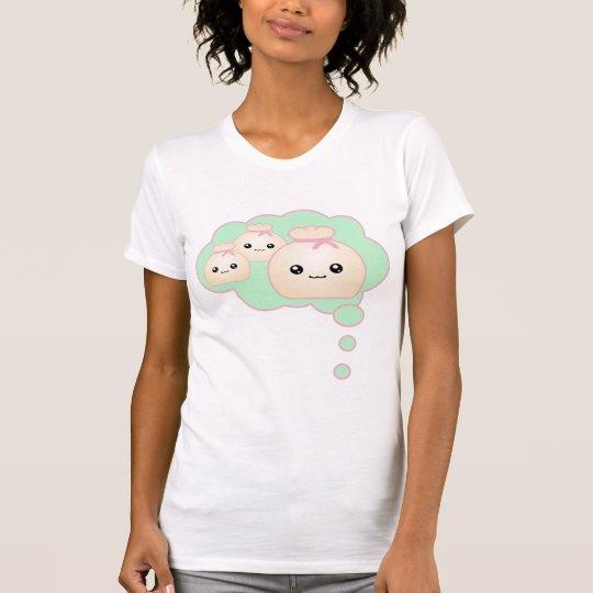 Kawaii Think Dumplings T-Shirt