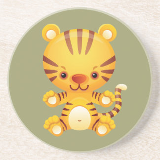 Kawaii Tiger Coaster