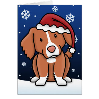 Kawaii Toller Christmas Card