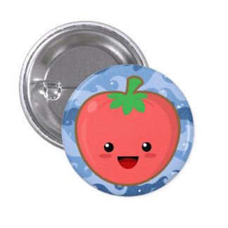 Kawaii Tomato 3 Cm Round Badge