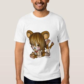 Kawaii Toon Critter Bear Girl T-Shirt