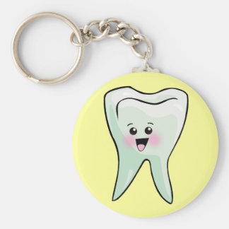 Kawaii Tooth Dental Art Key Ring