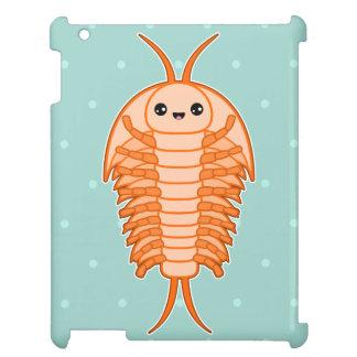 Kawaii trilobite iPad case