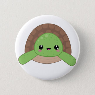 Kawaii Turtle Pin Badge