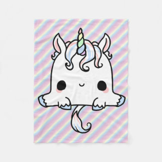 Kawaii Unicorn Blanket