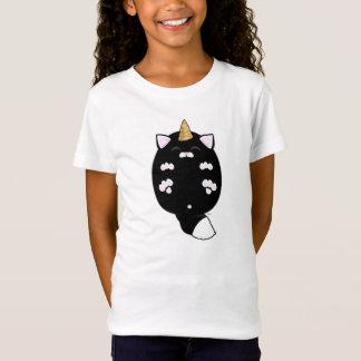 Kawaii Unicorn Cat Belly T-Shirt