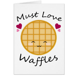 Kawaii Waffle Cards
