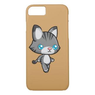 Kawaii Walking Cat iPhone 7 Case