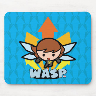 Kawaii Wasp Flying Mouse Mat