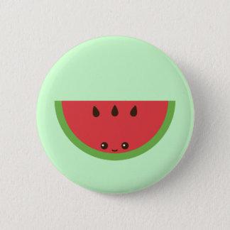 Kawaii Watermelon 6 Cm Round Badge