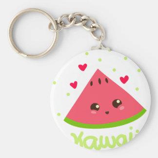kawaii watermelon! key ring
