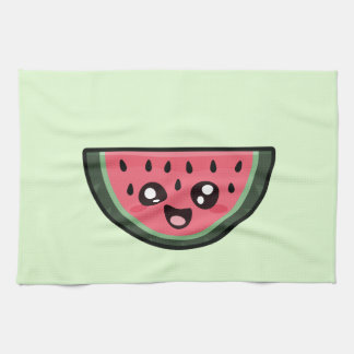 Kawaii Watermelon Tea Towel