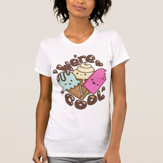 Kawaii We're Cool Icecream Shirt