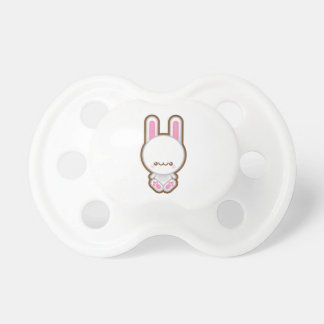 Kawaii White Bunny Rabbit Baby Pacifier / Dummy