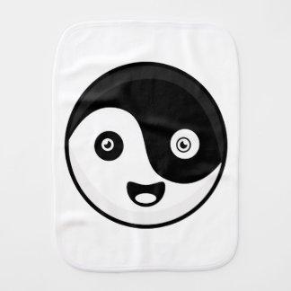 Kawaii Yin Yang Burp Cloth
