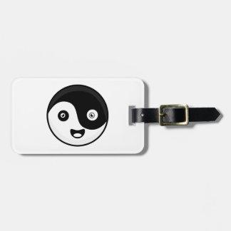 Kawaii Yin Yang Luggage Tag