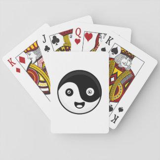 Kawaii Yin Yang Playing Cards