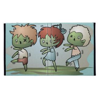 Kawaii Zombies iPad Folio Cases