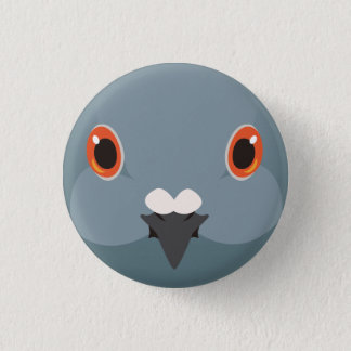 kawarabato - Rock dove 3 Cm Round Badge