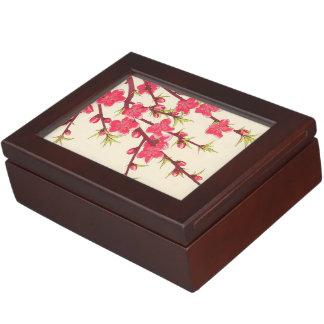 Kawarazaki Shodo Floral Calendar of Japan Cherry Keepsake Boxes