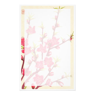 Kawarazaki Shodo Floral Calendar of Japan Cherry Stationery